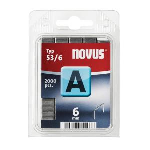 Novus Heftklammer HK53/6VZ 2000St