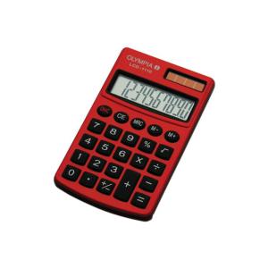 Olympia Taschenrechner LCD-1110 RD
