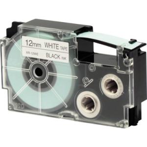 Casio Schriftband XR-12WE sw.ws