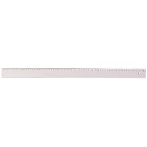 Aristo Lineal - 80cm - glasklar - mm-Teilung