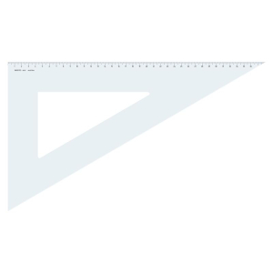 Aristo Dreieck - 60 Grad - 425 mm - ohne Facette