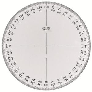 Aristo Winkelmesser VOLLKREIS 360 Grad