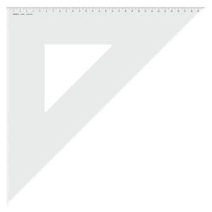 Aristo Dreieck 45 Grad mit Facette