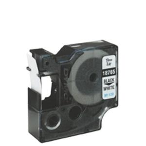 DYMO Band ID1 Poly. perm. 19mm x 5,5m schwarz/weiß