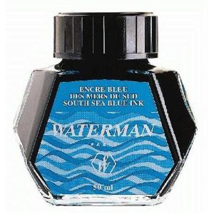 Waterman Tinte Flacon 50ml Standard südseeblau