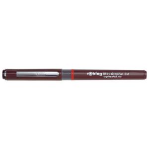 rotring Faserschreiber Tikky Graphic 0,2mm schwarz