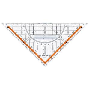 rotring Dreieck rotring Geo Centro 23cm mit festem Griff