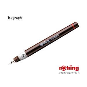 rotring Tuschefüller Isograph 0,25mm