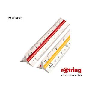 Rotring Maßstab Dreikant Archit4 30cm