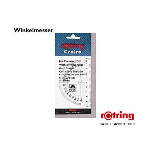 Rotring Winkelmesser Halbkreis Centro