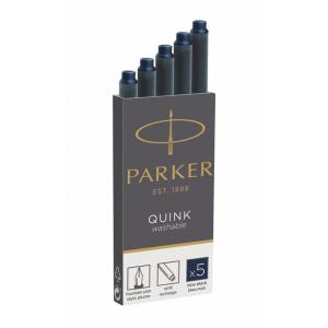 Parker Tintenpatrone QUINK Schwarz-Blau, PG=5ST