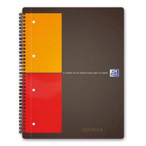 Oxford International Notizbuch - DIN A5 - kariert - 80 Blatt