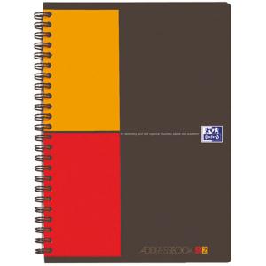 Oxford Adressbuch - DIN A5 - 72 Blatt