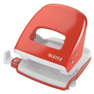 Leitz New NeXXt Locher 5008 - 30 Blatt - hellrot