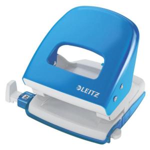 Leitz New NeXXt Locher 5008 - 30 Blatt - hellblau