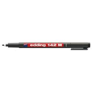 edding 142 M permanent pen Folienschreiber - 1 mm - schwarz