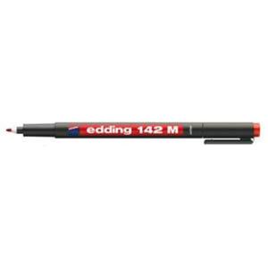 edding 142 M permanent pen Folienschreiber - 1 mm - rot