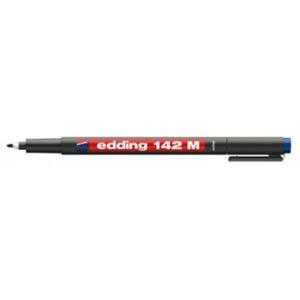 edding 142 M permanent pen Folienschreiber - 1 mm - blau