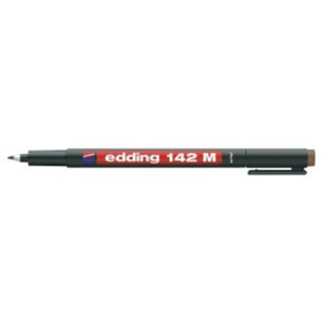 edding 142 M permanent pen Folienschreiber - 1 mm - braun