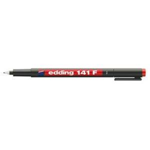 edding 141 F permanent pen Folienschreiber - 0,6 mm - rot