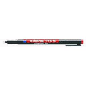 edding 140 S permanent pen Folienschreiber - 0,3 mm - rot