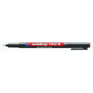 edding 140 S permanent pen Folienschreiber - 0,3 mm - braun