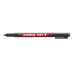 edding 141 F permanent pen Folienschreiber - 0,6 mm - braun