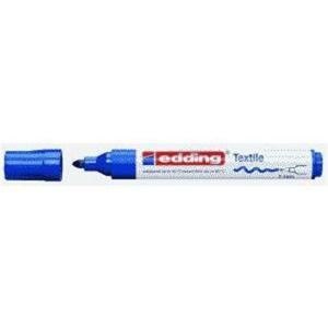 edding 4500 Textilmarker - Rundspitze - 2-3 mm - blau