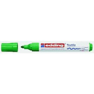 edding 4500 Textilmarker - Rundspitze - 2-3 mm - grün