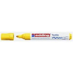 edding 4500 Textilmarker - Rundspitze - 2-3 mm - gelb
