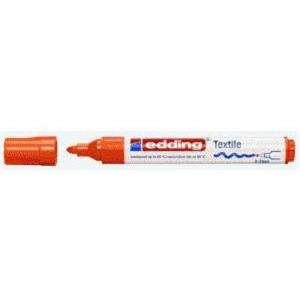 edding 4500 Textilmarker - Rundspitze - 2-3 mm - orange