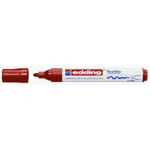 edding 4500 Textilmarker - Rundspitze - 2-3 mm - braun