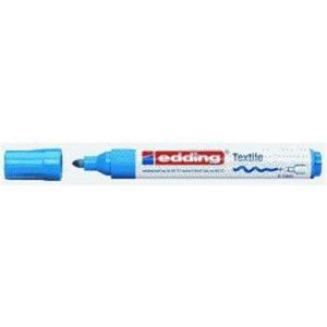edding 4500 Textilmarker - Rundspitze - 2-3 mm - hellblau