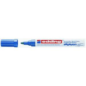 edding 4000 Mattlackmarker - Rundspitze - 4 mm - blau