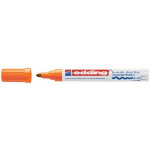edding 4000 Mattlackmarker - Rundspitze - 4 mm - orange
