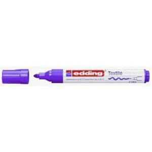 edding 4500 Textilmarker - Rundspitze - 2-3 mm - neonviolett