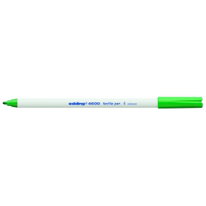 edding 4600 Textilstift - Rundspitze - 1 mm - grün