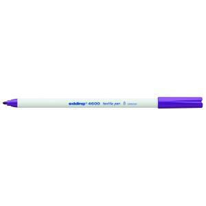 edding 4600 Textilstift - Rundspitze - 1 mm - violett