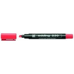 edding 230 Textmarker - 1-5 mm - nachfüllbar - rot