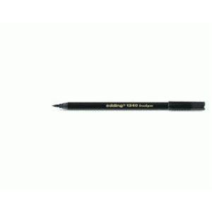 edding 1340 brush pen Pinselmaler - schwarz