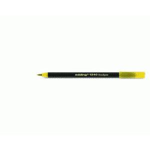 edding 1340 brush pen Pinselmaler - gelb