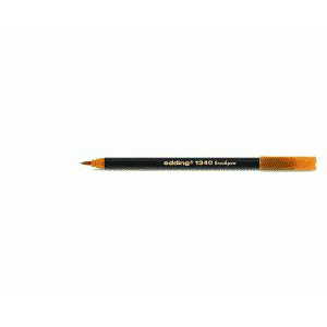 edding 1340 brush pen Pinselmaler - orange