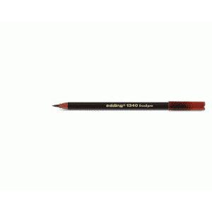 edding 1340 brush pen Pinselmaler - braun