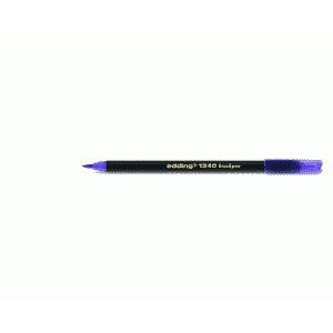 edding 1340 brush pen Pinselmaler - violett