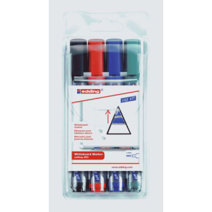 edding Whiteboardmarker 363, 1-5mm, 4er-Set