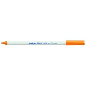 edding 4600 Textilstift - Rundspitze - 1 mm - orange