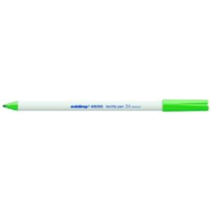 edding 4600 Textilstift - Rundspitze - 1 mm - blassgrün