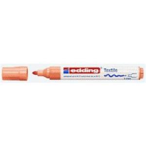 edding 4500 Textilmarker - Rundspitze - 2-3 mm - hell orange