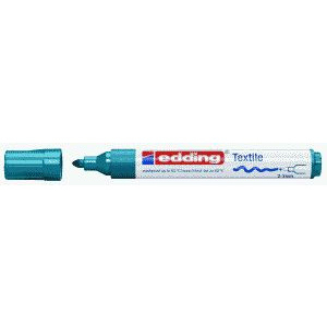 edding 4500 Textilmarker - Rundspitze - 2-3 mm - orientblau