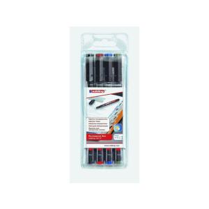 edding 141 F permanent pen Folienschreiber - 0,6 mm - 4er...